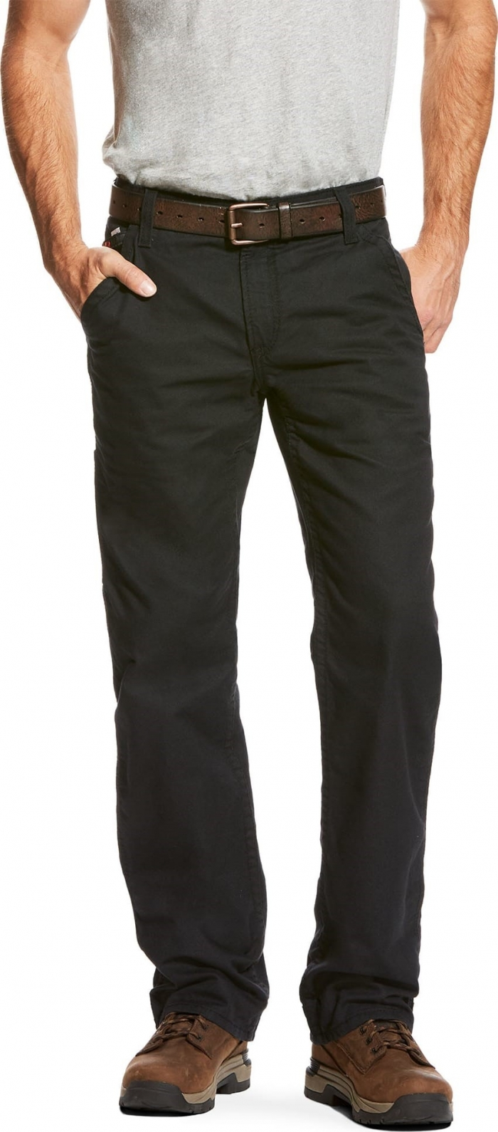 580a26a9acd4 Ariat FR M4 Relaxed Fit Boot Cut Workhorse - Black