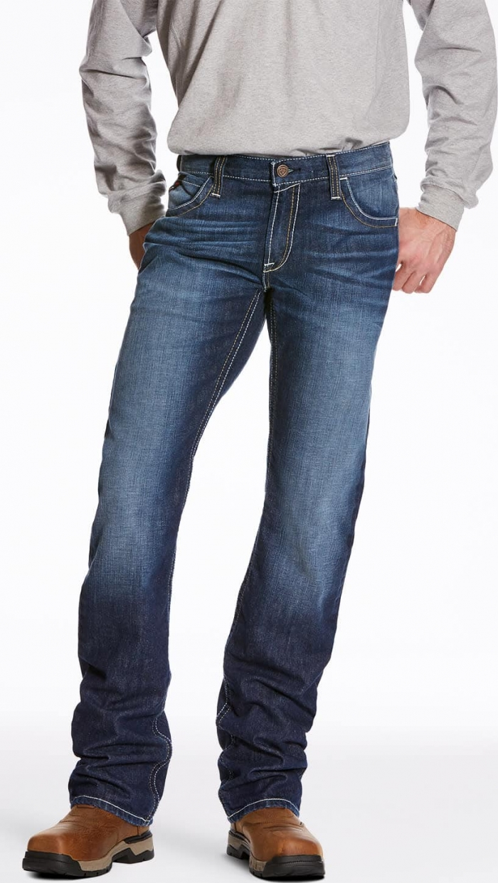 0a9fb782c81 Ariat FR M5 Slim Fit Straight Leg Dura Stretch Stackable Jeans - Ryley