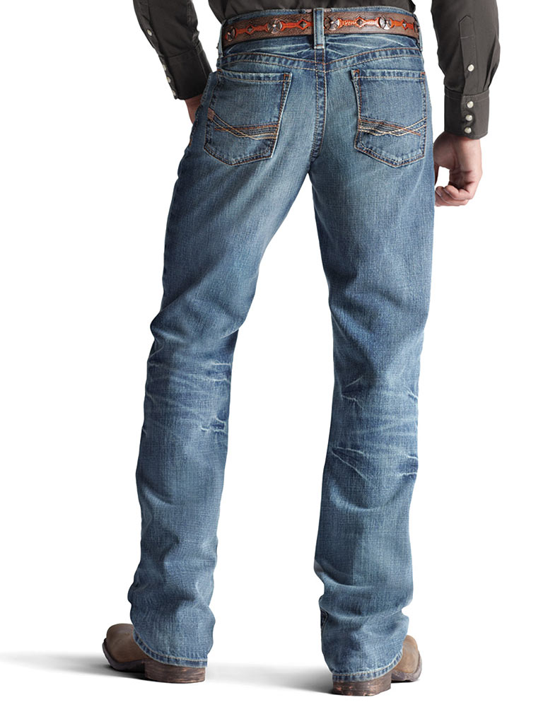 Ariat M4 Relaxed Fit Boot Cut -  Scoundrel