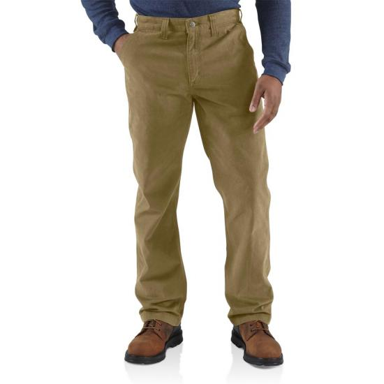 Carhartt Relaxed Fit Straight Leg Rugged Work Cotton Twill Pant