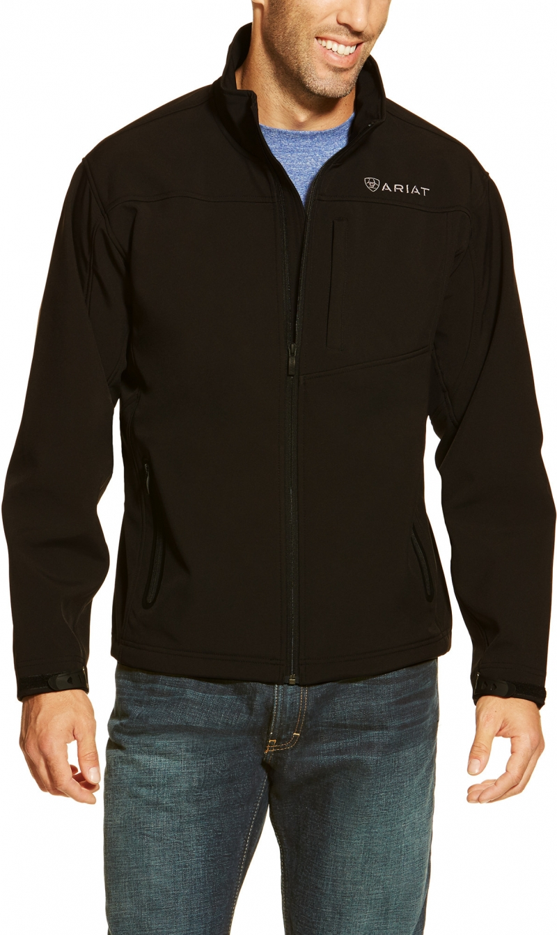 Ariat Vernon Soft Shell Jacket -  Black