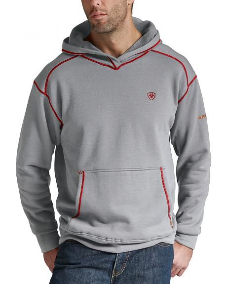 Ariat FR Polartec® Hoodie - Heather Gray