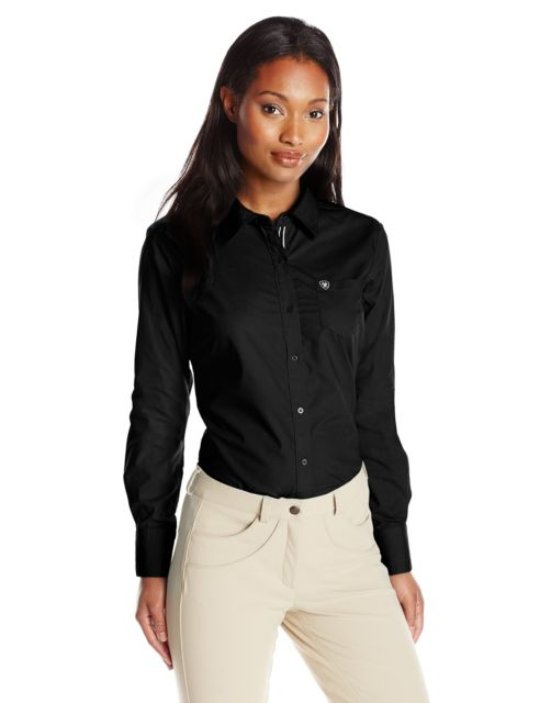 Ariat Women's Kirby Button Front L/S Shirt - Black