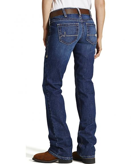 Ariat FR Mid Rise Boot Cut - Blue Quartz
