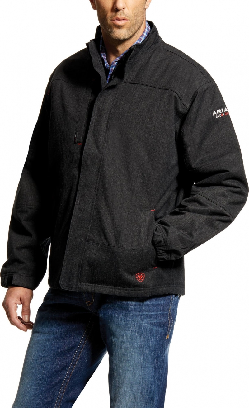 Ariat FR H20Proof Jacket/ Insulated - Black