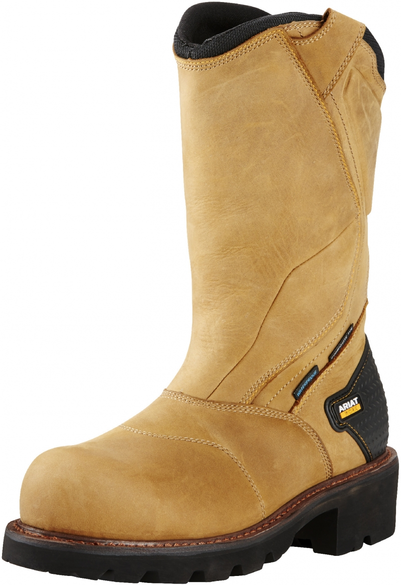 Ariat POWERLINE Pull-On C/T W/P - Aged Bark