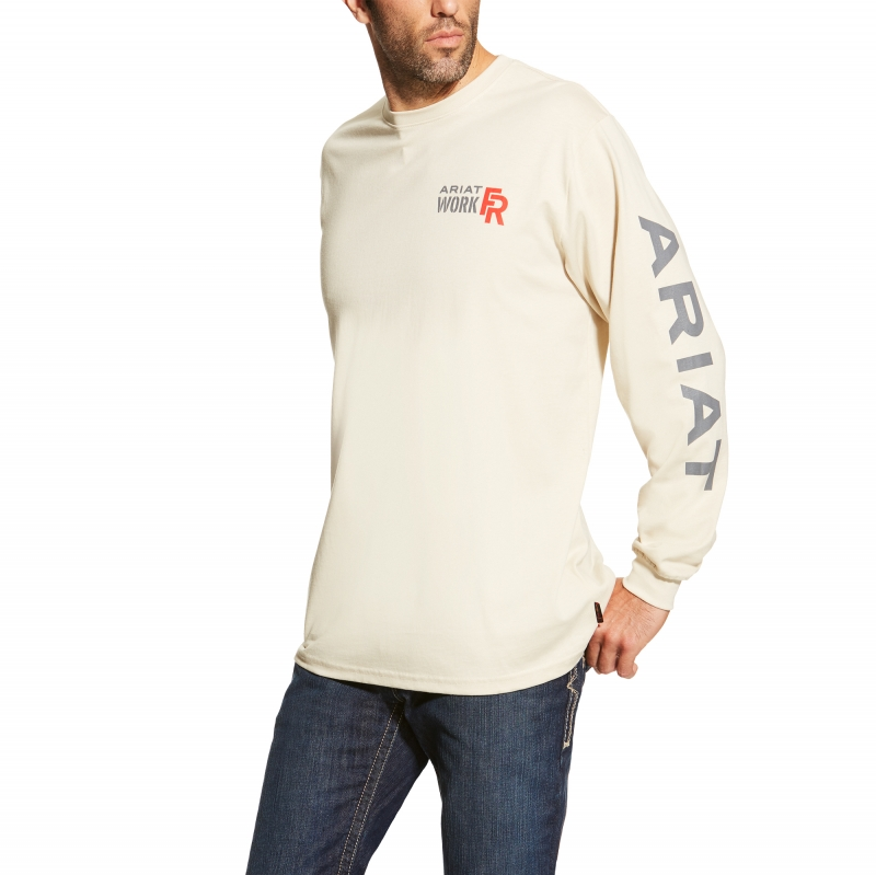 Arriat FR Long Sleeve Logo Crew Neck