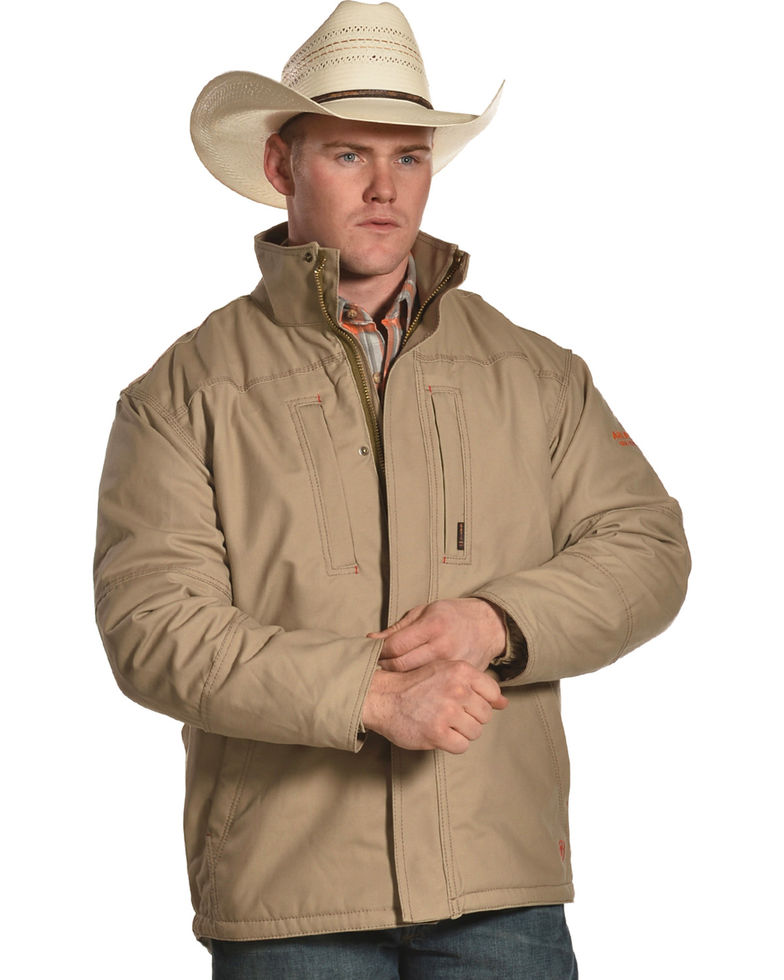 Ariat FR Workhorse Lined Jacket - Khaki