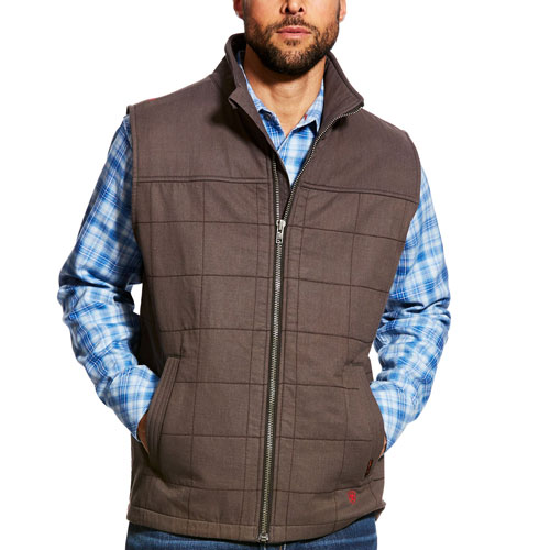 Ariat FR Ripstop Insulated Waterproof Vest - Caponata