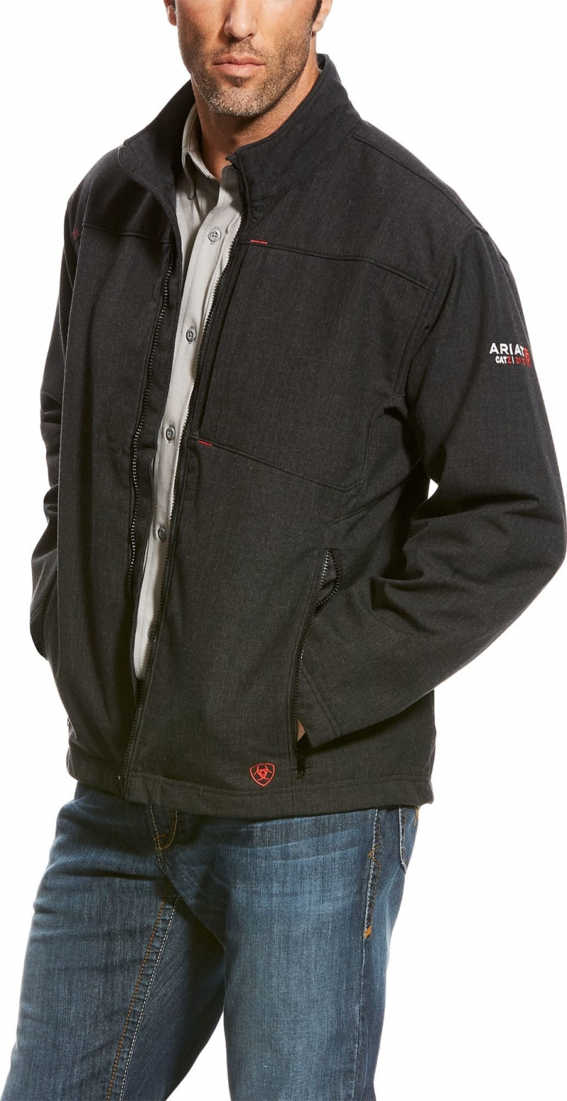 Ariat FR Vernon Softshell Jacket - Black
