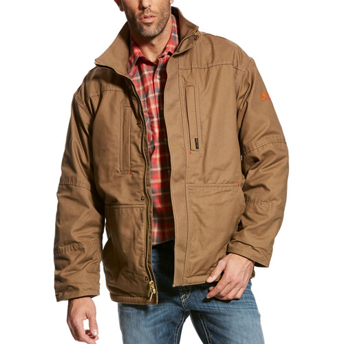 Ariat FR Workhorse Jacket - Field Khaki