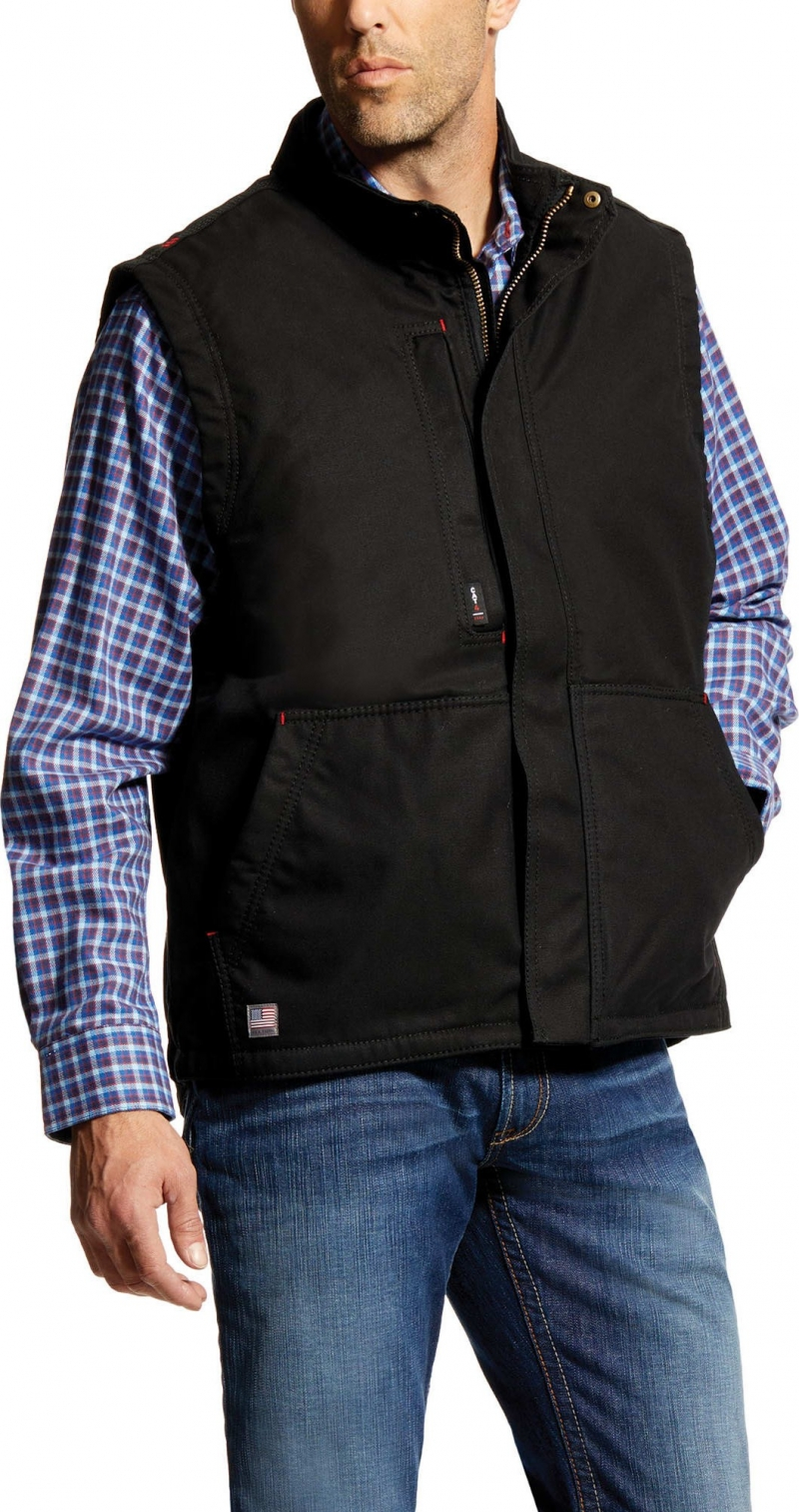 Ariat FR Workhorse Vest - Black