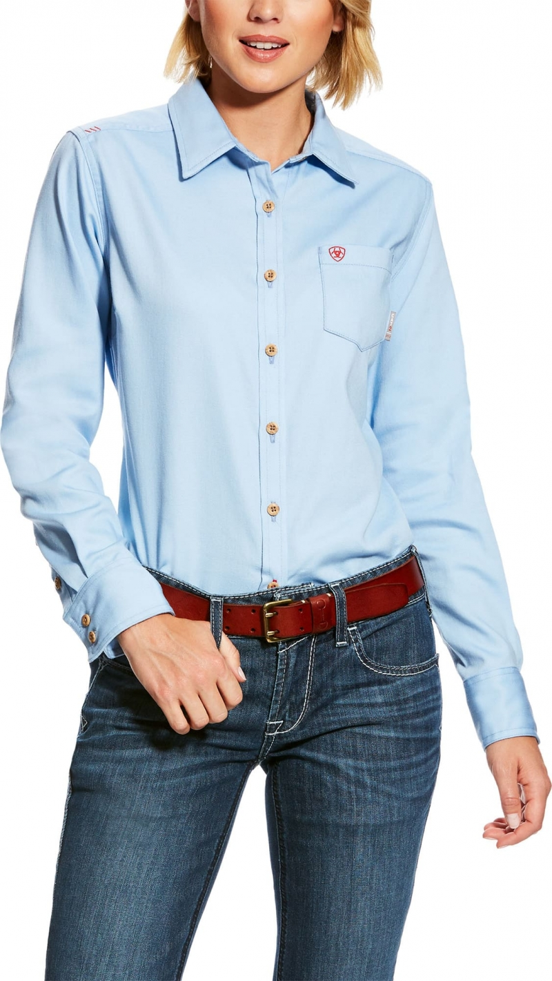 ARIAT Womens Flame Resistant Taylor Knit Work Shirt