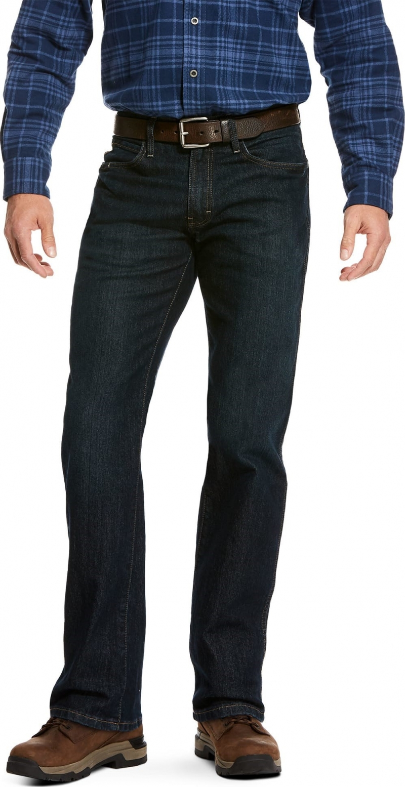 Ariat Rebar M2 DuratStretch Relaxed Fit Stackable Straight Leg - Blackstone