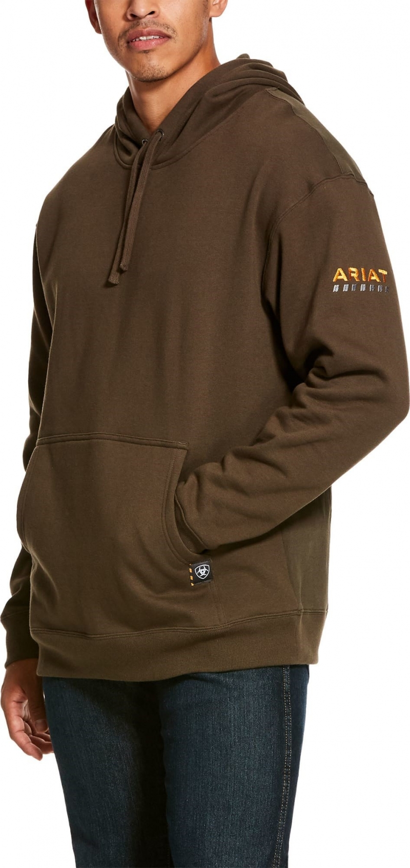 Ariat Rebar Workman Pullover Hooded Sweatshirt - Wren