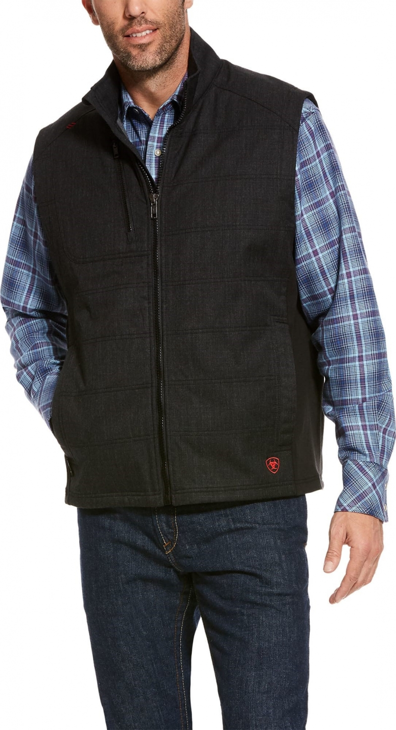 Ariat FR Cloud 9 Insulated Vest - Black