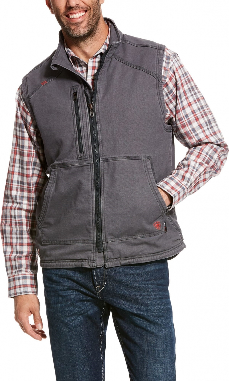 Ariat FR Duralight Stretch Canvas Vest