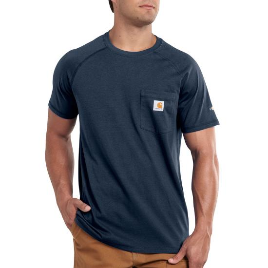 Carhartt Force® Cotton Crewneck Pocket S/S Shirt