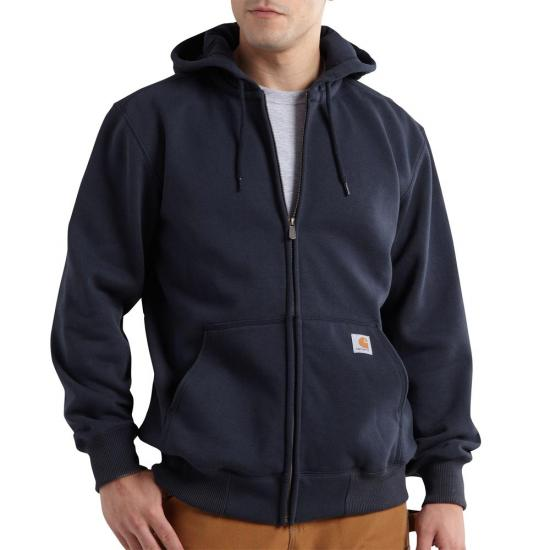 Carhartt Rain Defender® Paxton Heavyweight Zip Front Hooded Sweatshirt