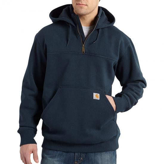 Carhartt Rain Defender® Paxton Heavyweight Quarter Zip Hooded Sweatshirt