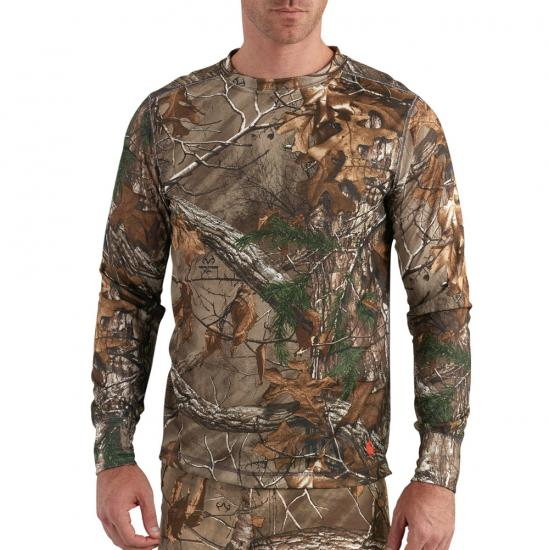 Carhartt Base Force® Extremes Cold Weather Camo Crewneck