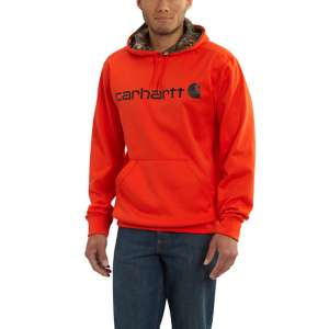 Carhartt Force Extremes® NLFO Logo Pullover Hooded Sweatshirt-Orange