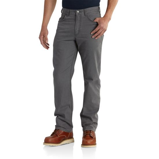 Carhartt Relaxed Fit Straight Leg Rugged Flex Rigby Five Pocket  Pant