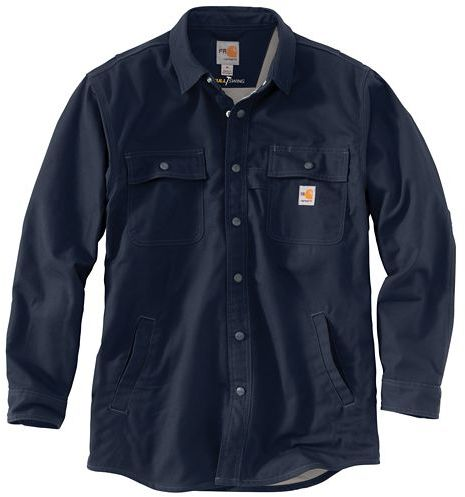 Carhartt FR Snap Front Quick Duck Full Swing L/S Shirt Jacket