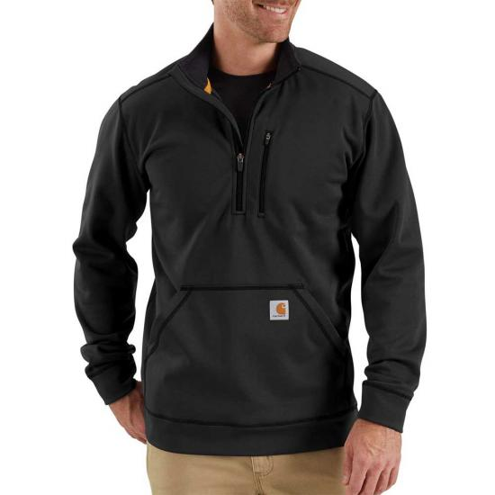 Carhartt Force Extremes™ Half Zip Mock Neck Sweatshirt