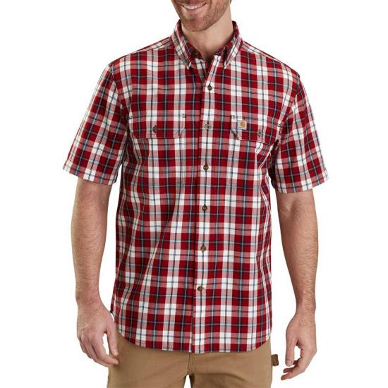 Carhartt Fort Plaid Button Front S/S Shirt