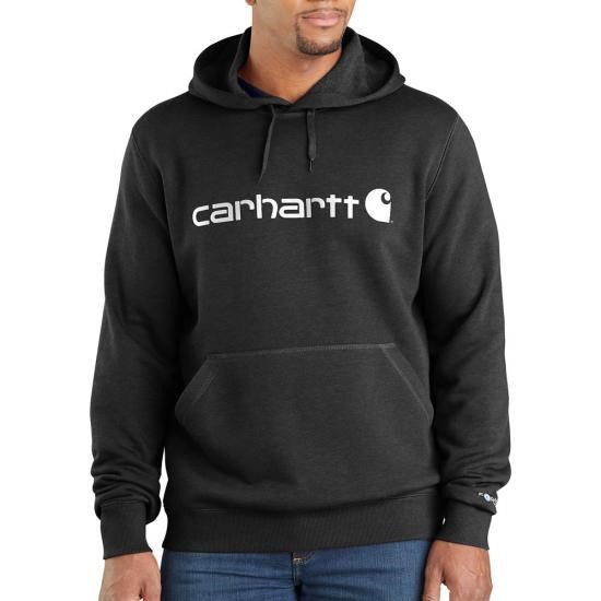Carhartt Force Delmont Signature Graphic  Pullover Hooded Sweatshirt