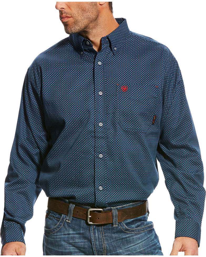 Ariat FR Button Front Durango Work Shirt - Multi