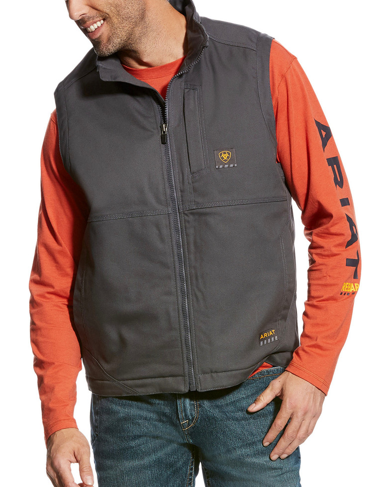 Ariat Rebar Duracanvas Vest - Gray