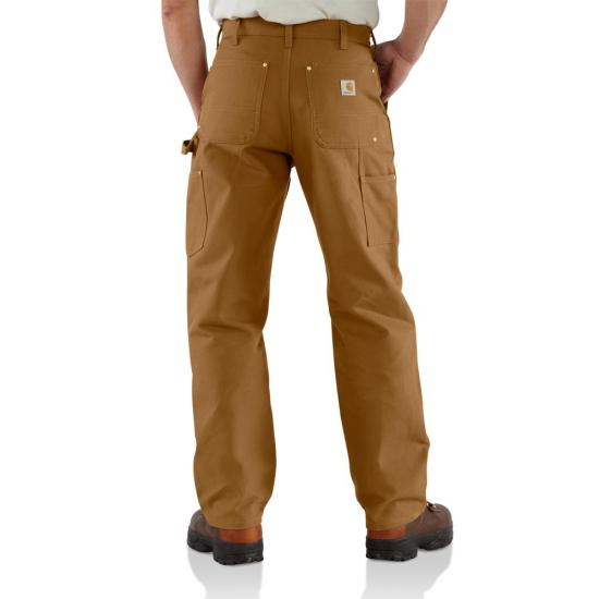 Carhartt Firm Duck Double-Front Work Dungaree Pant