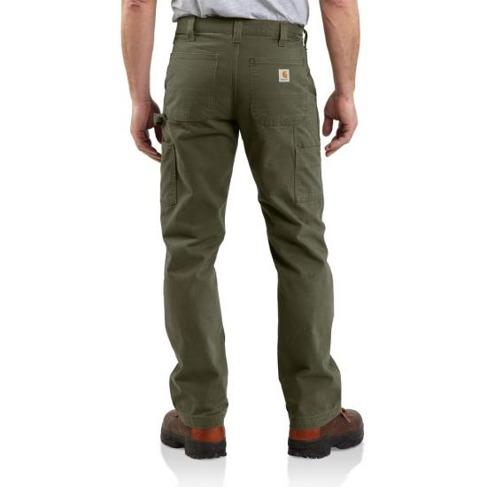 Carhartt Relaxed Fit Straight Leg Washed Cotton Twill Relaxed-Fit Pant
