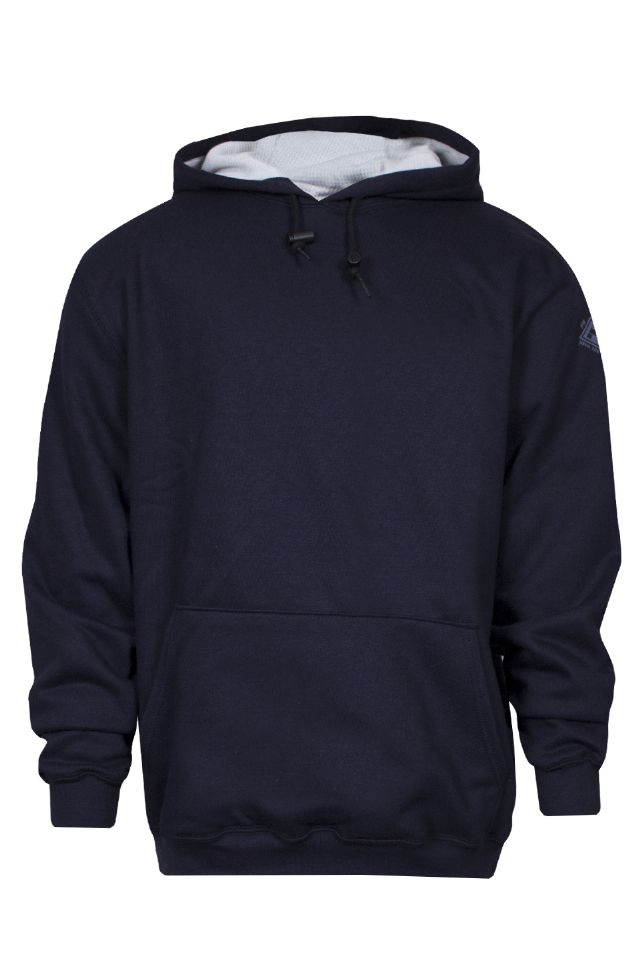 NSA Dual Hazard TecGen Select Lined Hooded Pullover Sweatshirt - Navy