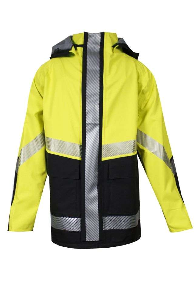 NSA FR HI-VIS Hydrolite Waterproof Breathable Storm Jacket