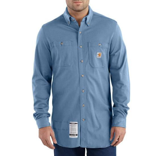 Carhartt FR Button Front Force Cotton Hybrid Shirt
