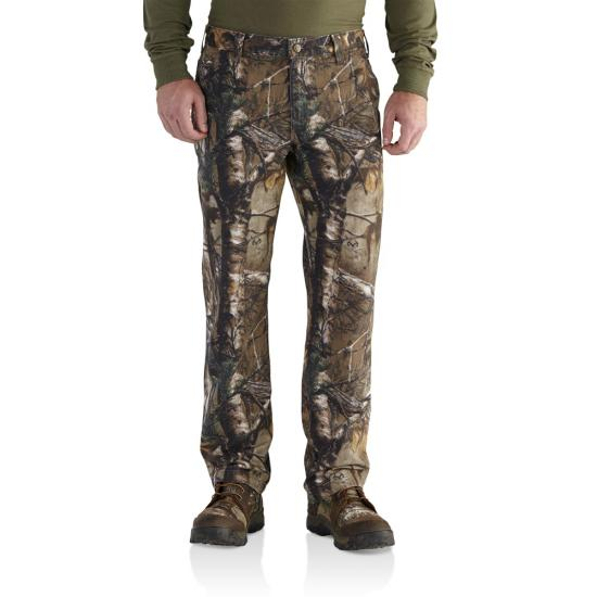 Carhartt Relaxed Fit Straight Leg Rugged Flex Rigby Camo Dungaree Pant