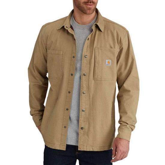 Carhartt L/S Rugged Flex Rigby Shirt Jacket