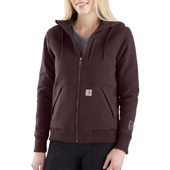Carhartt Rockland Quilt Lined Full Zip Hooded Sweatshirt