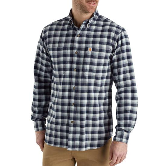 Carhartt Rugged Flex Hamilton Plaid Button Front L/S Shirt