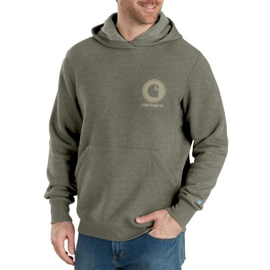 Carhartt Force® Delmont Graphic Pullover Hooded Sweatshirt