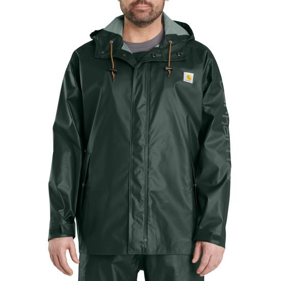 Carhartt LW Waterproof Rain Storm Coat