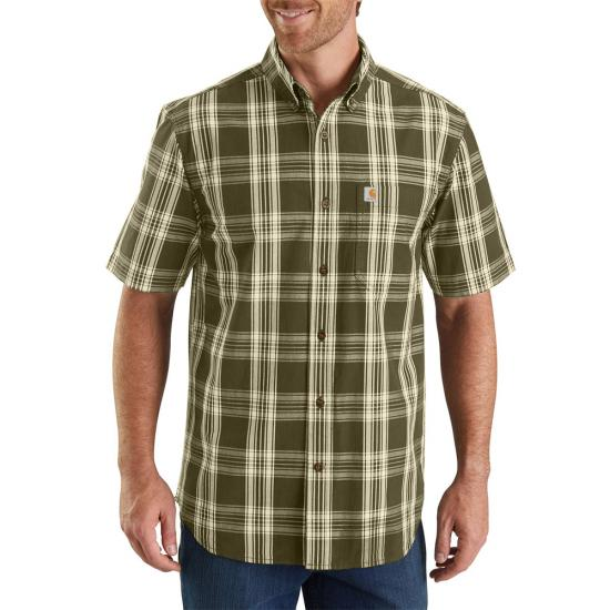 Carhartt Essential Plaid Button Front S/S Shirt