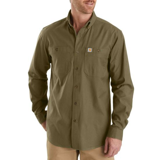 Carhartt Rugged Flex Rigby Button Front L/S Work Shirt