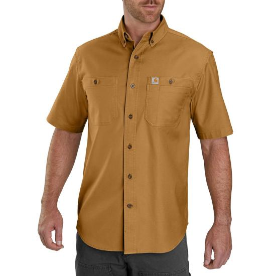 Carhartt Rugged Flex Rigby Button Front S/S Work Shirt