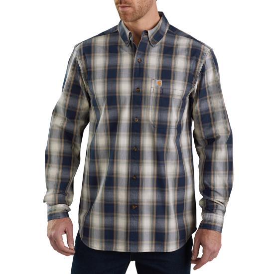 Carhartt Essential Plaid Button Front L/S Shirt