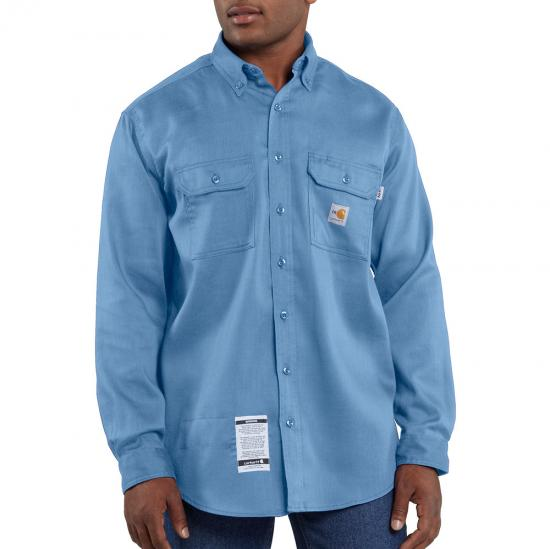 Carhartt FR Button Front Work-Dry® Lightweight Twill Shirt