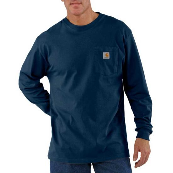 Carhartt Workwear Crewneck Pocket L/S Shirt